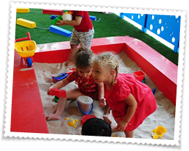 children playing - Learning Ladder Nursery in JLT