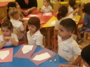 Arabic class at the Nursery in JLT